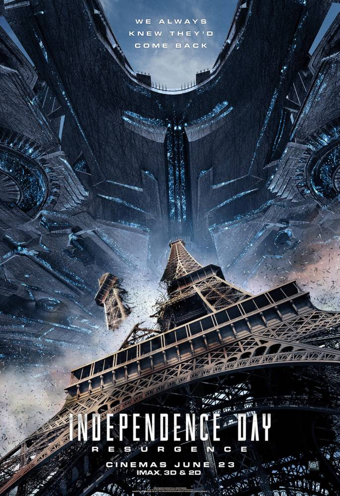 2016 Affiche Independence day Resurgence